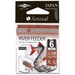 Mikado haczyki Sensual River Feeder 10 DB