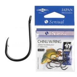 Mikado haczyki Sensual Chinu W/Ring 10 BN