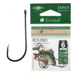 Mikado haczyki Sensual Round 8 BN