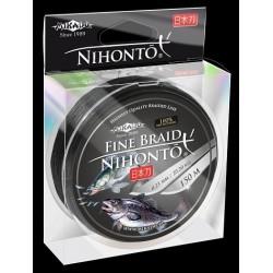 Mikado Plecionka Nihonto Fine Braid 0,16 black 150m