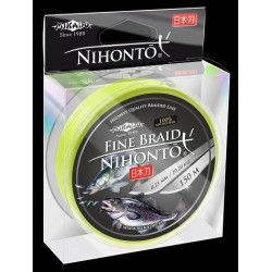 Mikado Plecionka Nihonto Fine Braid 0,40 fluo 150m