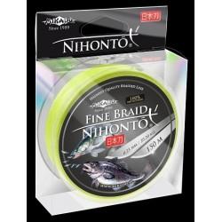 Mikado Plecionka Nihonto Fine Braid 0,50 fluo 150m