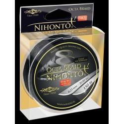 Mikado Plecionka Nihonto Octa Braid 0,08 black 150m