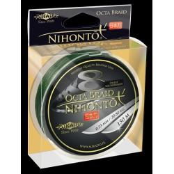 Mikado Plecionka Nihonto Octa Braid 0,12 green 150m