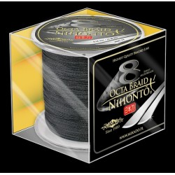 Mikado Plecionka Nihonto Octa Braid 0,30 black 300m