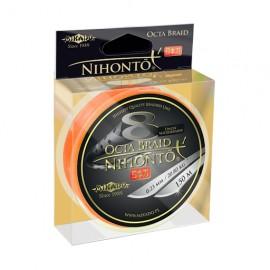 Mikado Plecionka Nihonto Octa Braid 0,08 orange 150m