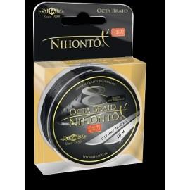 Mikado Plecionka Nihonto Octa Braid 0,18 black 10m