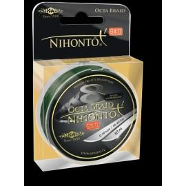 Mikado Plecionka Nihonto Octa Braid 0,18 green 10m