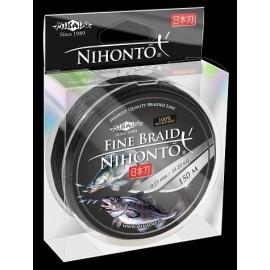 Mikado Plecionka Nihonto Fine Braid 0,08 black 150m