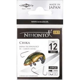 Mikado haczyki Nihonto Chika 12BN