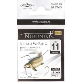 Mikado haczyki Nihonto Keiryu W/Ring 15BN