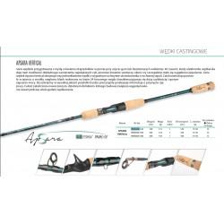WĘDKA MIKADO APSARA VERTICAL 140 cm 15-50 g WAA668-140