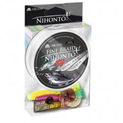 MIKADO PLECIONKA NIHONTO FINE BRAID 014 WHITE 150M