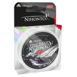 MIKADO PLECIONKA NIHONTO FINE BRAID 018 WHITE 15M