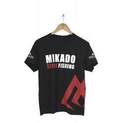 MIKADO T-SHIRT Z NADRUKIEM (CZARNY) - rozm. M