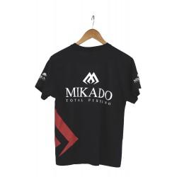 MIKADO T-SHIRT Z NADRUKIEM (KIDS NIEBIESKI) - rozm. 116