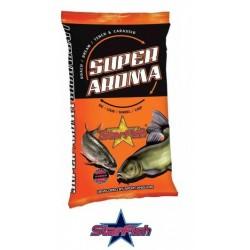 StarFish zanęta Super Aroma 1kg Karp - Truskawka