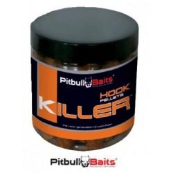 PitBull Baits pellet haczykowy 250ml truskawka