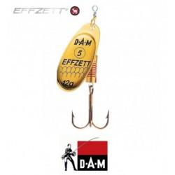 D-A-M błystka obrotowa Effzett Standard 4 - 10g gold