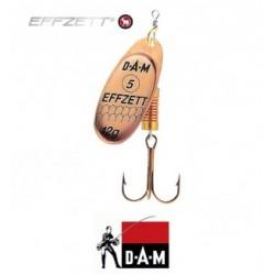 D-A-M błystka obrotowa Effzett Standard 4 - 10g kupfer
