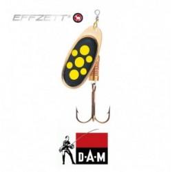 D-A-M błystka obrotowa Effzett Standard 4 - 10g blacky
