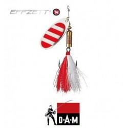 D-A-M błystka obrotowa Effzett Standard dressed 2 - 4g stripe