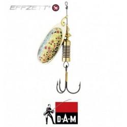 D-A-M błystka obrotowa Effzett Nature 3D 2 - 4g brown trout