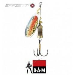 D-A-M błystka obrotowa Effzett Nature 3D 3 - 6g rainbow trout