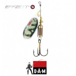 D-A-M błystka obrotowa Effzett Nature 3D 2 - 4g perch