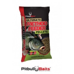 PitBull Baits Pellet Ultimate Method Feeder 1kg 3mm Truskawka