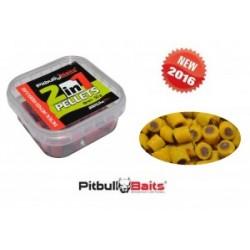 "PitBull Baits Pellet haczykowy 2in1 ""metoda"" 50g 8mm Ryba/Wanilia"
