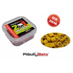 "PitBull Baits Pellet haczykowy 2in1 ""metoda"" 50g 8mm Ryba/Banan"