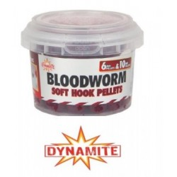 Dynamite Soft Hook Pellets Bloodworm 6mm & 10mm