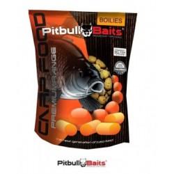 PitBull Baits Kulki Zanętowe 1kg Hiszpańska pomarańcza