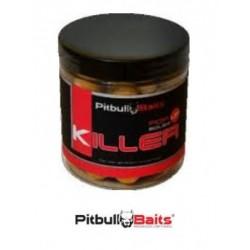 PitBull Baits Kulki Pop-up 250ml 16mm Soczysta truskawka